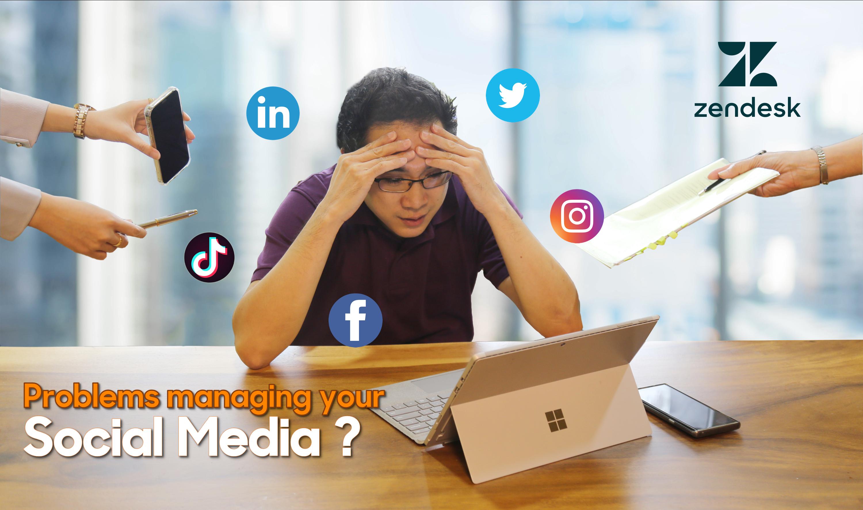 Zendesk Problem managing your social media